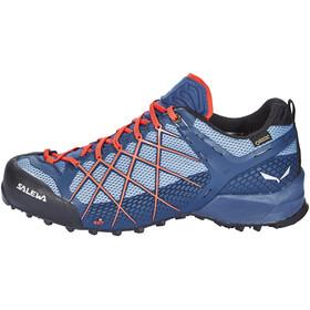 Salewa Wildfire GTX Shoes Men Dark Denim/Papavero